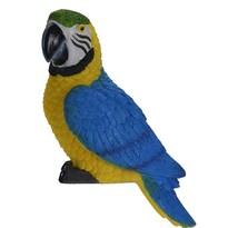 Papuga dekoracyjna Ara ararauna, 7 x 10 x 18 cm