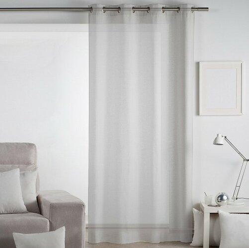 Matějovský Záclona Lilien sivá, 140 x 260 cm