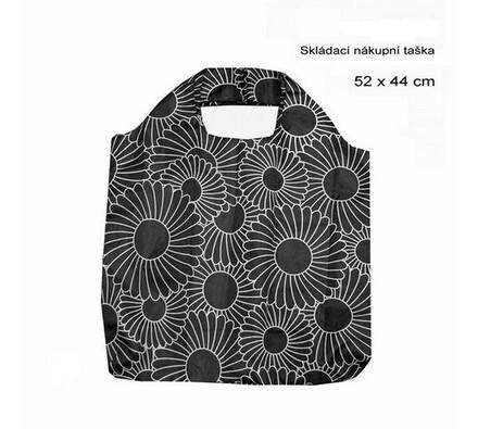 Skládací nákupní taška Famito 0021B květiny