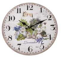 Zegar ścienny Lavender, 34 cm