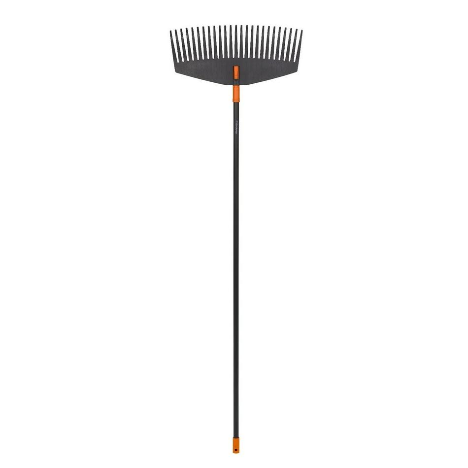 Fiskars Solid Hrábě na listí s násadou, komplet L