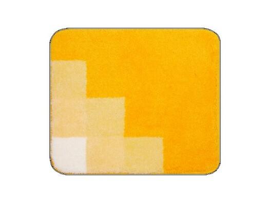 Koupelnová předložka Grund UDINE žlutá, 55 x 65 cm