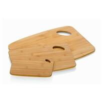 Kela KATANA 3 részes szeletelő deszka készlet, bambusz