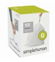 Simplehuman Vrecia do odpadkového koša G 30 l, 100 ks