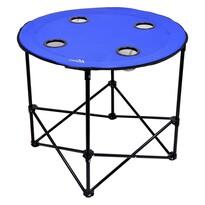 Cattara Kempingový skladací stôl Split, modrá