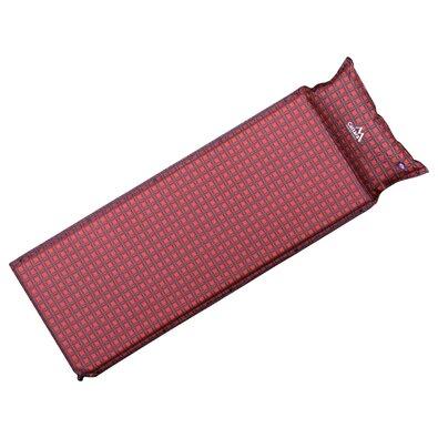 Saltea auto-gonflabilă Cattara Kilt, cu pernă, 190 x 60 x 3,8 cm