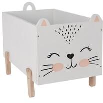 Dekoračný úložný box Hatu Mačka, 50 x 36 cm