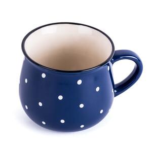 Ketamický hrnek Dots 230 ml, modrá