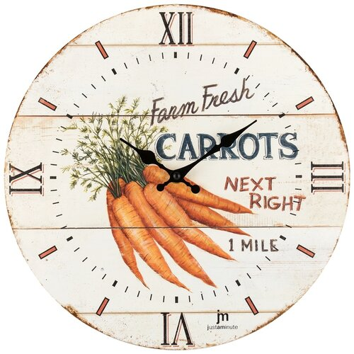 Lowell 21492 Designové nástěnné hodiny pr. 34 cm