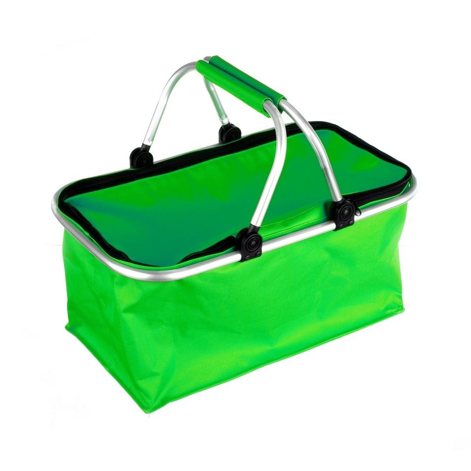 Nákupný košík Kemping zelená