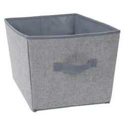 Úložný box 39 x 30 x 24 cm, šedá