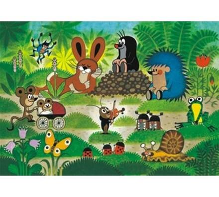 Puzzle Krteček na koncertě Dino Toys, 100XL dílků, vícebarevná