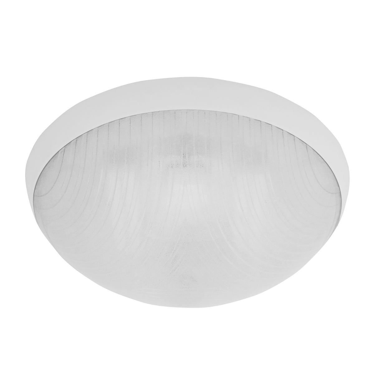 GALIA prisadené stropné a nástenné kruhové svetlo 75W, bílá, Panlux