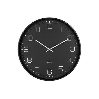 Karlsson KA5751BK Dizajnové nástenné hodiny, 40 cm