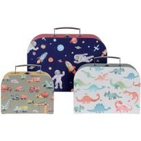 Set valize pentru copii Boy´s choice, 3 buc.
