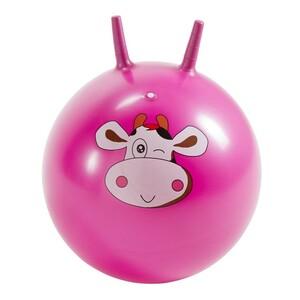 Skákací míč Kravička růžová, 45 cm