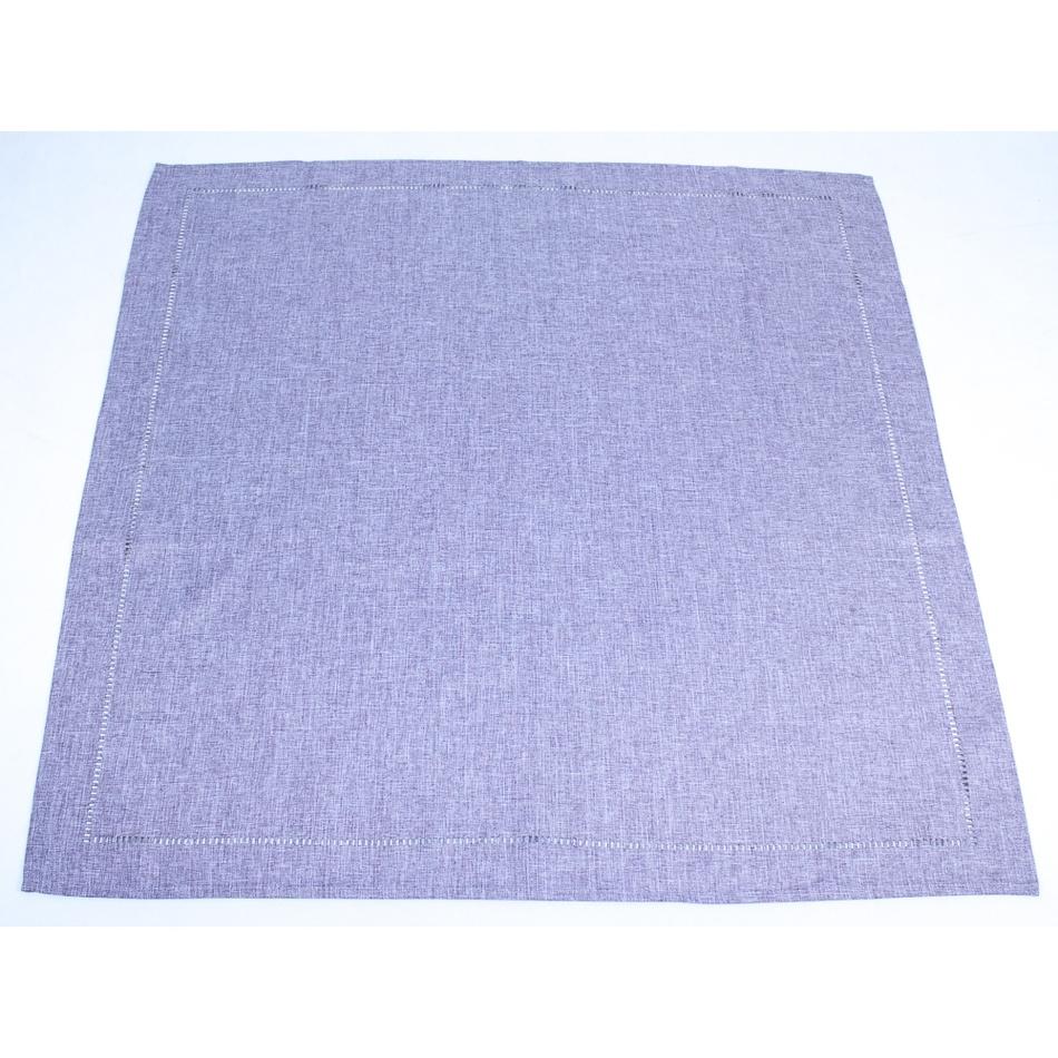 BO-MA Trading Ubrus fialová, 85 x 85 cm