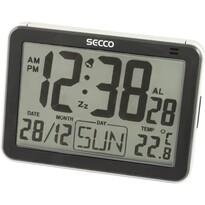SECCO S LD852-03 (571) Digitálny budík, čierna