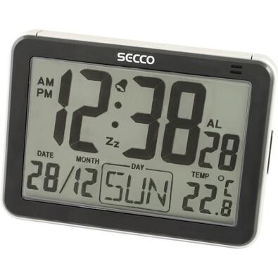 SECCO S LD852-03 (571) Digitální budík, černá