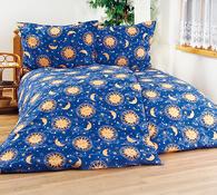 Bavlnené obliečky Nočná obloha, 140 x 200 cm, 70 x 90 cm