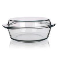 Simax Naczynie szklane, okrągłe z pokrywką 5,1 l