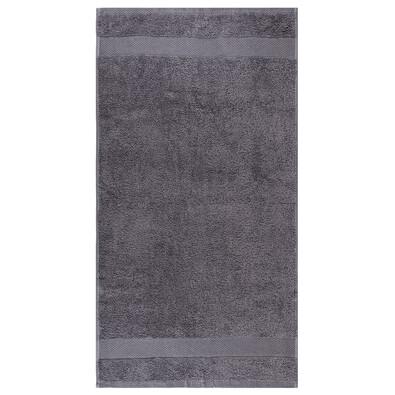 Ručník Olivia šedá, 50 x 90 cm