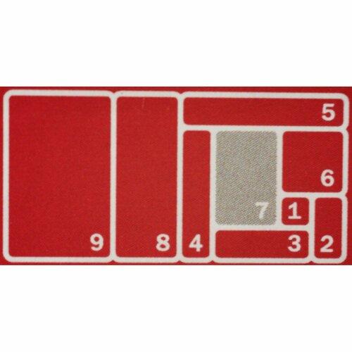 KIS Organizér Sistemo 7, 22,5 x 15,5 x 5 cm, šedá