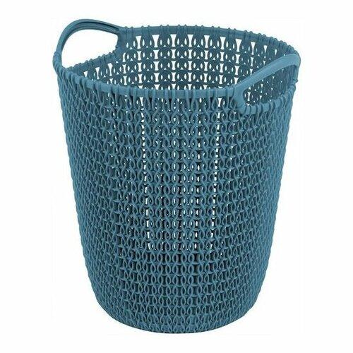 Curver Odpadkový kôš na papier Knit, 7 l, modrá