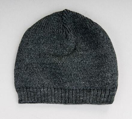 Pletená čepice Karpet 305014, šedá