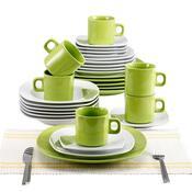 Blaumann 30dílná jídelní sada, zelená