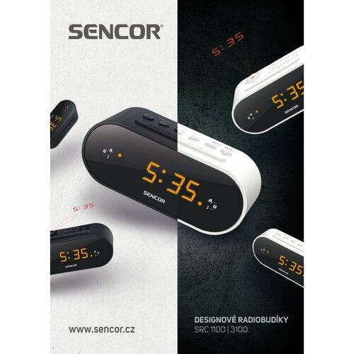 Sencor SRC 3100 B Radiobudík s projekcí, černá