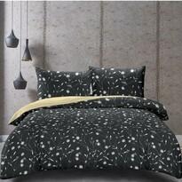 DecoKing Saténové obliečky Dandelion, 140 x 200 cm, 70 x 90 cm