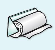 Oboustranná lepící páska bílá