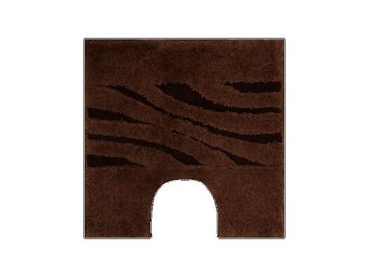 WC předložka Grund THUNI hnědá, 55 x 55 cm