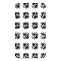 Bavlněné prostěradlo NHL Logo White, 90 x 200 cm