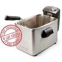 DOMO DO458FR rozsdamentes acél sütő