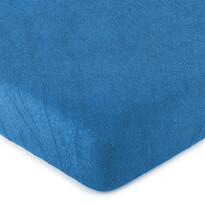 4Home frottír lepedő kék