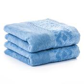 4Home ručník Magnolie modrá, 50 x 90 cm, sada 2 ks