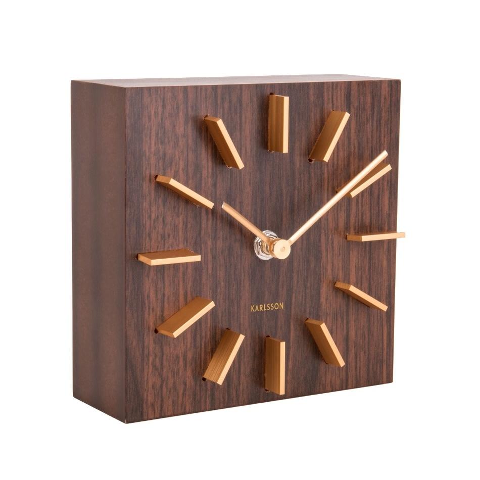 Dizajnové stolové a nástenné hodiny 5781DW Karlsson 15cm