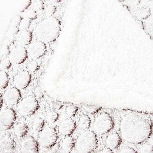Beránková deka Petra béžová, 150 x 200 cm