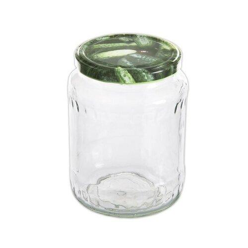 Orion Sada zavařovacích sklenic s víčkem 0,72 l, 8 ks