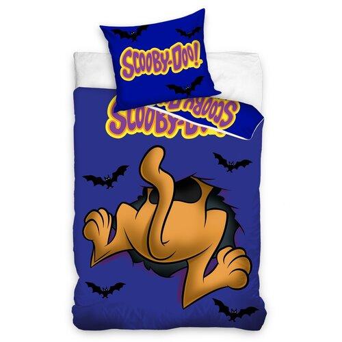 Scooby Doo Kukk! gyermek pamut ágynemű, 140 x 200 cm, 70 x 90 cm