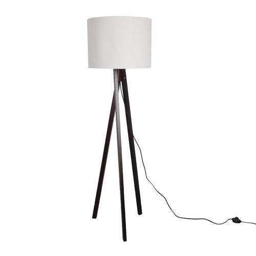 Tempo Kondela Stojací lampa Lila 9, bílá
