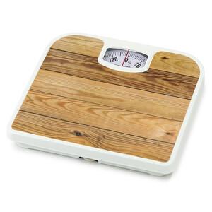 Osobní váha Plank Alder, hnědá