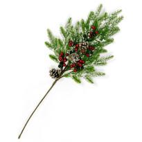 Gineta karácsonyi ág, 65 cm
