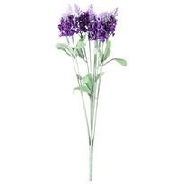 Floare artificială Lavandă, violet, 34 cm