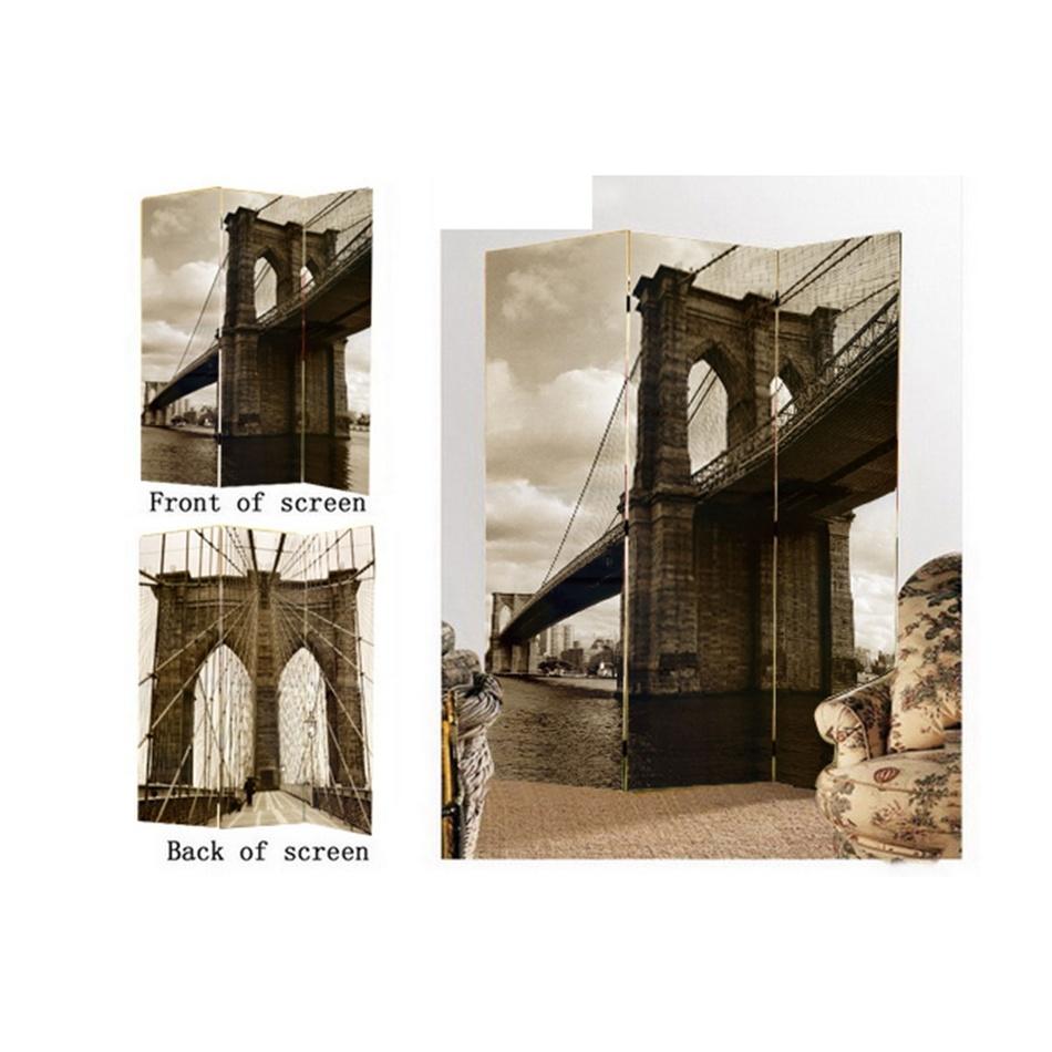 Paravan most 3dílný