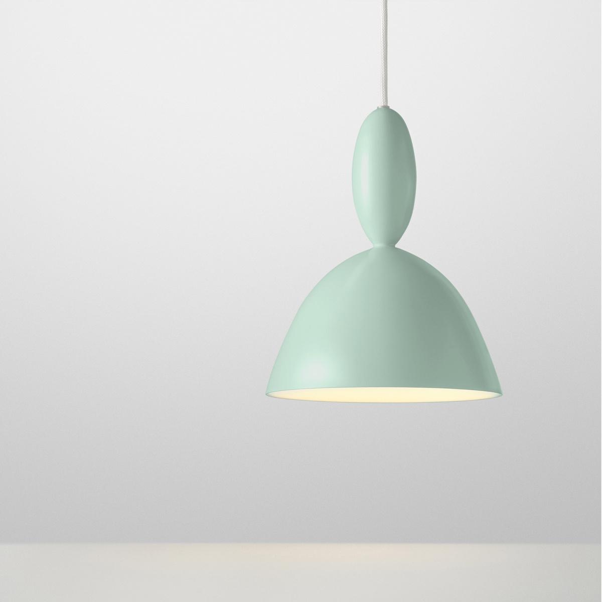Muuto Lustr Mhy 24,5 cm, svetlo zelený