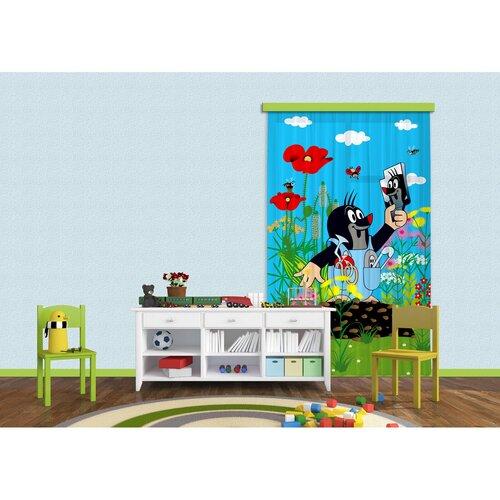 Kisvakond és a tükör gyerek függöny, 140 x 245 cm