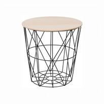 Příruční stolek Nancer 1, přírodní